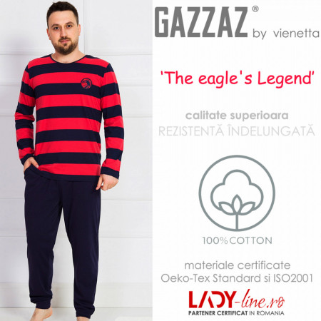 Pijama Barbati Gazzaz by Vienetta, 'The Eagle's Legend'