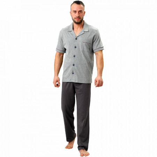 Pijamale cu Nasturi Barbati, M-Max, 'Geo Adventure'