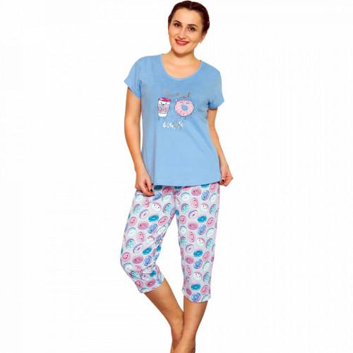 Pijamale Dama Marimi Mari, Vienetta, 'Perfect Couple' Blue
