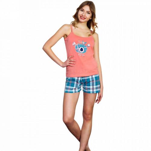 Pijamale Dama Vienetta Bumbac 100%, 'Good Things'