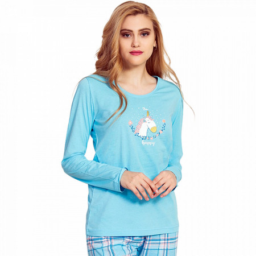 Pijamale Dama Vienetta, Model 'Happy Unicorn'