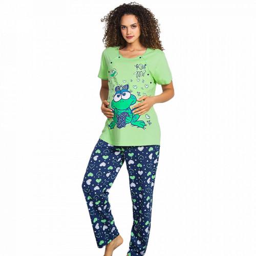 Pijamale Gravide si Alaptat Vienetta, Bumbac 100%, 'Kiss Me'