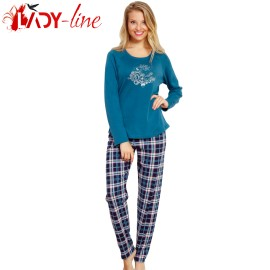 Poze Pijamale Vienetta Secret, Bumbac 100% Interlock, 'Silent Night'