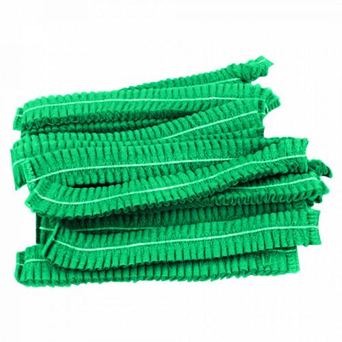 Capelina Unica Folosinta Tip Acordeon, 100 Bucati, Culoare Verde