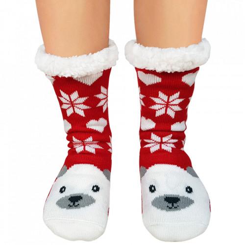 Ciorapi Imblaniti Lady-Line, 'Cute Polar Bear'