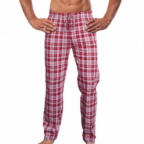 Pantaloni Pijama Barbati Gazzaz by Vienetta 'Urban' Red