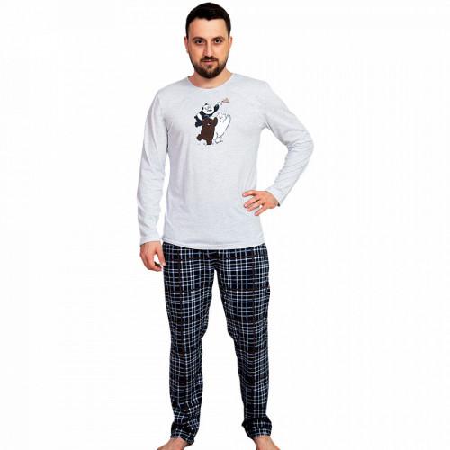 Pijama Barbati Gazzaz by Vienetta, 'Pizza Triangle'