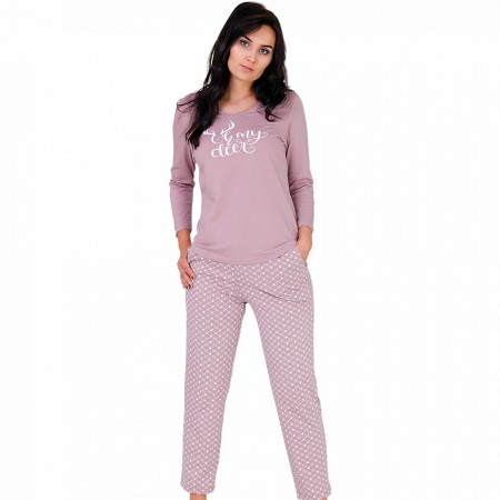 Pijama Dama Bumbac, M-Max, Model 'Oh My Deer'