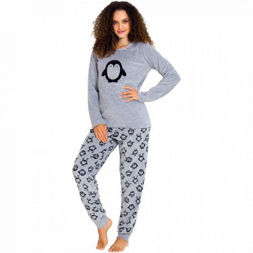 Pijama Dama Soft Velur, Vienetta, 'Silent Night'