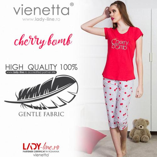 Pijama Dama Vienetta 'Cherry Bomb'