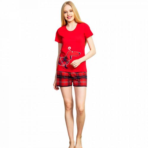 Pijama Dama Vienetta, Model 'Thinkig of You' Red