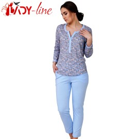Poze Pijamale Dama Bumbac 100%, M-M Nightwear, Heaven'