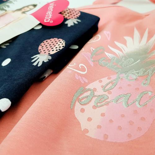 Pijamale Vienetta Dama, 'Love Joy Peace'