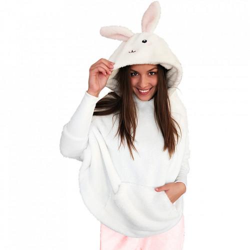 Poncho Dama Pufos, Woman Esence, Model 'Sexy Bunny'