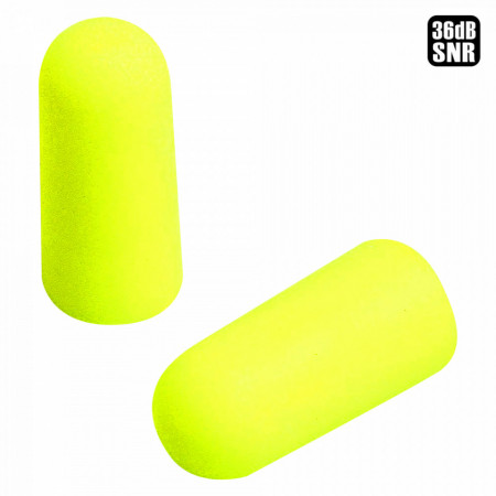 Antifoane Interne 3M E-A-Rsoft EN 352-2 Yellow Neons Protectie SRN 36dB, 1 Set