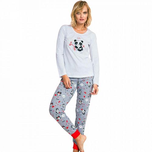 Pijama Dama Vienetta Model 'My Love' Gray