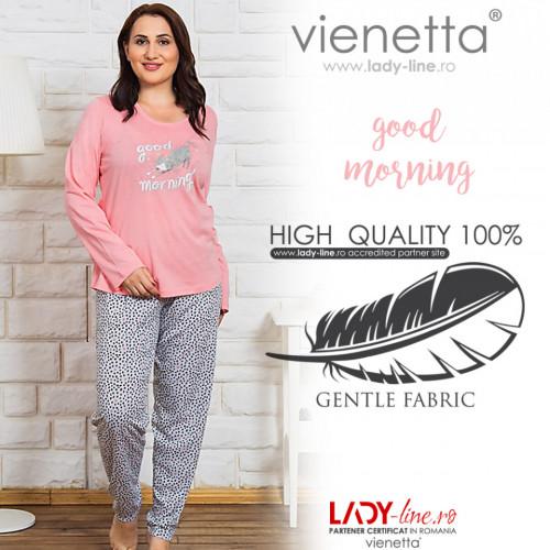 Pijamale Dama Marimi Mari Vienetta 'Good Morning'