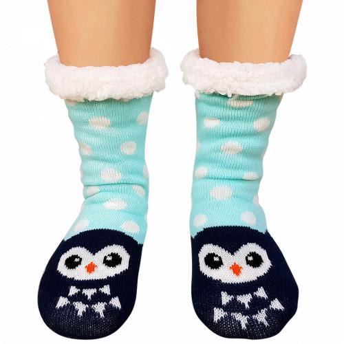 Ciorapi Imblaniti Lady-Line, 'Happy Owl'