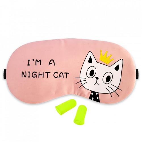Masca Dormit 'Im A Night Cat' si Antifoane Interne Urechi