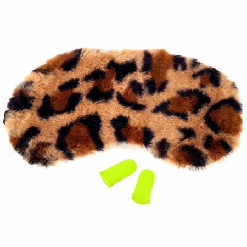 Masca Dormit 'Sexy Feline' si Antifoane Interne Urechi