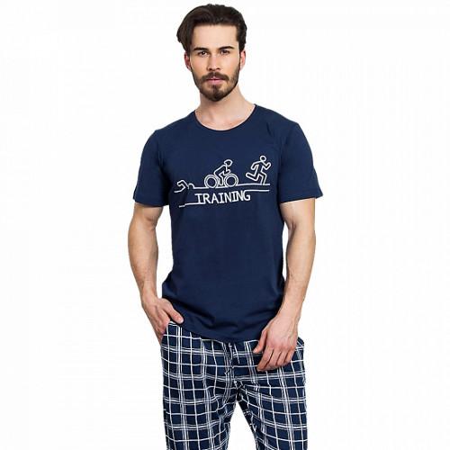Pijama Barbati Gazzaz by Vienetta, 'Training'
