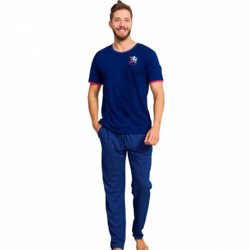 Pijamale Barbati din Bumbac 100% Gazzaz by Vienetta 'Aristocratic Vision'