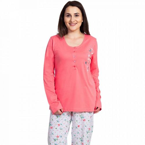 Pijamale Dama Marimi Mari Vienetta, Bumbac 100%, 'Bohemian Dreams'