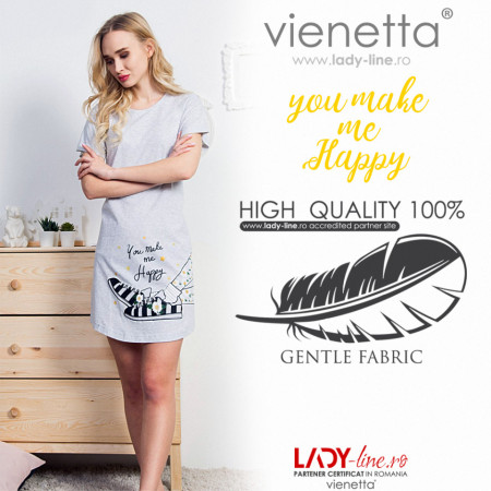 Camasa de Noapte Vienetta, 'You Make Me Happy'