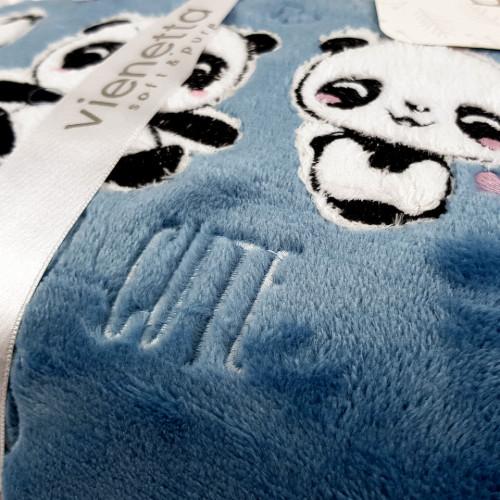 Compleu Dama Welsoft, Vienetta Soft & Pure, 'Fluffy Pandas'