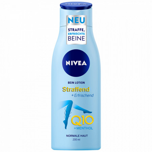 Lotiune Picioare Hidratate Nivea Q10 +Menthol 200 ml