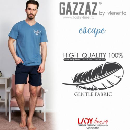 Pijama Barbati Gazzaz by Vienetta, 'Escape'