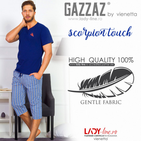 Pijama Barbati Gazzaz by Vienetta, 'Scorpion Touch'