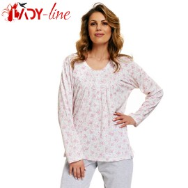 Poze Pijama Dama Maneca/Pantalon Lung, 'Beauty', DN-Nightwear