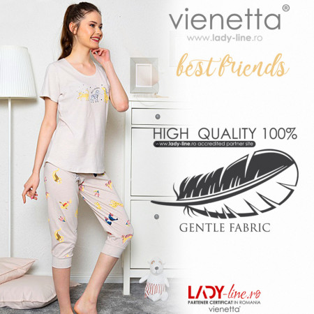 Pijama Dama Vienetta 'Best Friends'