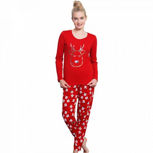 Pijama Dama Vienetta, Bumbac, 'Pure Joy'