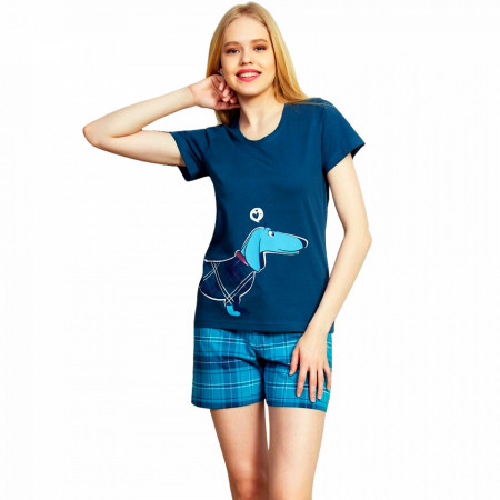 Pijama Dama Vienetta, 'Thinkig of You' Green