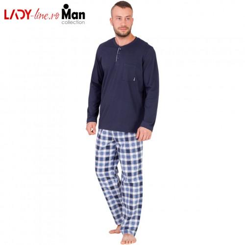 Pijamale Barbati M-Max, Bumbac 100%, 'The Guardian'