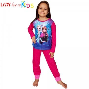 Poze Pijamale Copii 'Anna & Elsa', Brand Disney Frozen