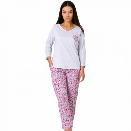 Pijamale Dama Bumbac, M-Max, Model 'Glow Of Murrine'