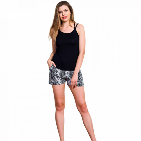 Pijamale Dama Vienetta Classic, 'Black Beauty'