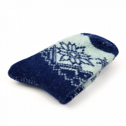 Sosete Calduroase din Lana Naturala de Oaie Model 'Cold Winter'