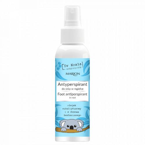 Spray Antiperspirant Picioare Dr Koala 150 ml