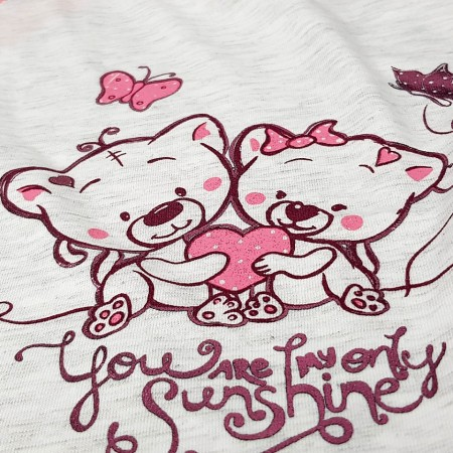 Camasa Gravide si Alaptat, 'You Are My Sunshine' Pink