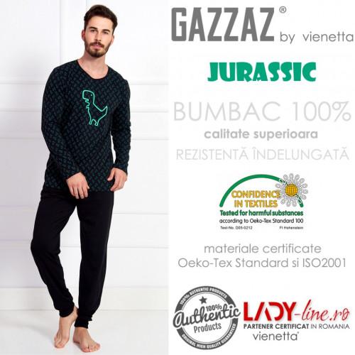 Pijama Barbati Gazzaz by Vienetta, 'Jurassic'