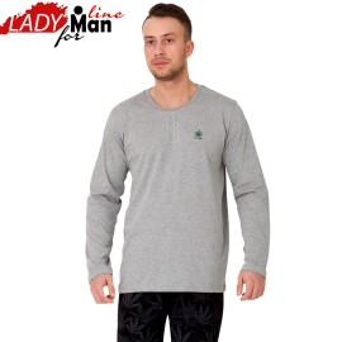 Pijama Barbati Maneca/Pantalon Lung, 'Fly High', M-M Nightwear