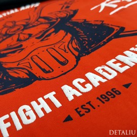 Poze Pijamale Barbati Bumbac 100%, Gazzaz by Vienetta, 'Fight Academy' Red