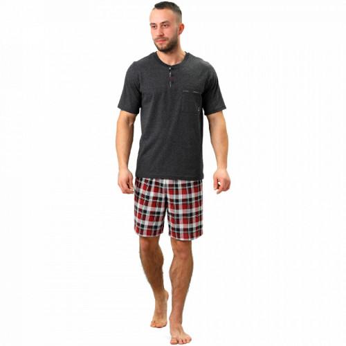 Pijamale Barbati M-Max, Bumbac 100%, 'Magnetic'