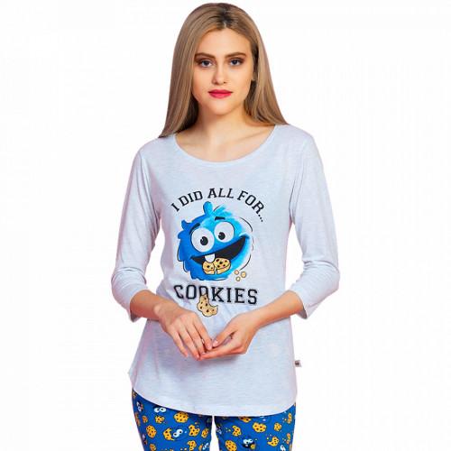 Pijamale Dama Vienetta Dream, 'I did all four Cookies'