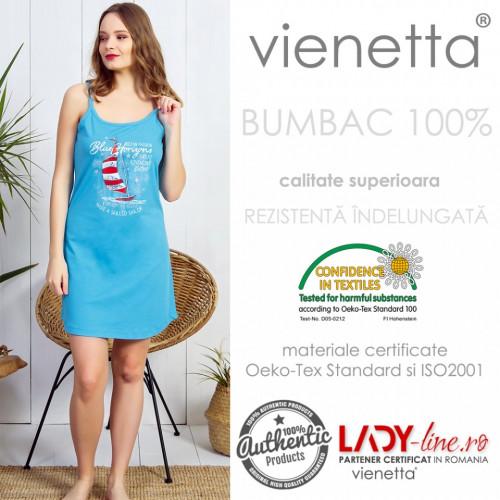 Camasa Dama Vienetta, 100% Bumbac, 'Great Adventure'
