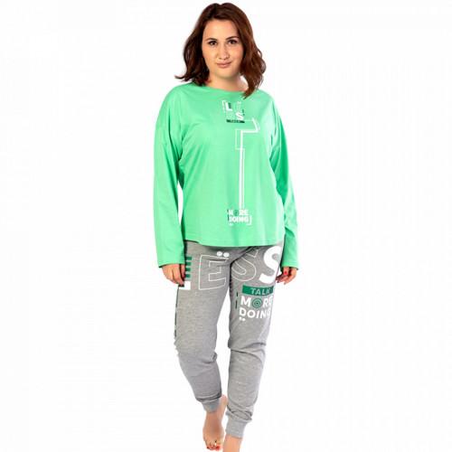 Pijamale Confortabile Dama Marimi Mari Vienetta Model 'Less Talk'